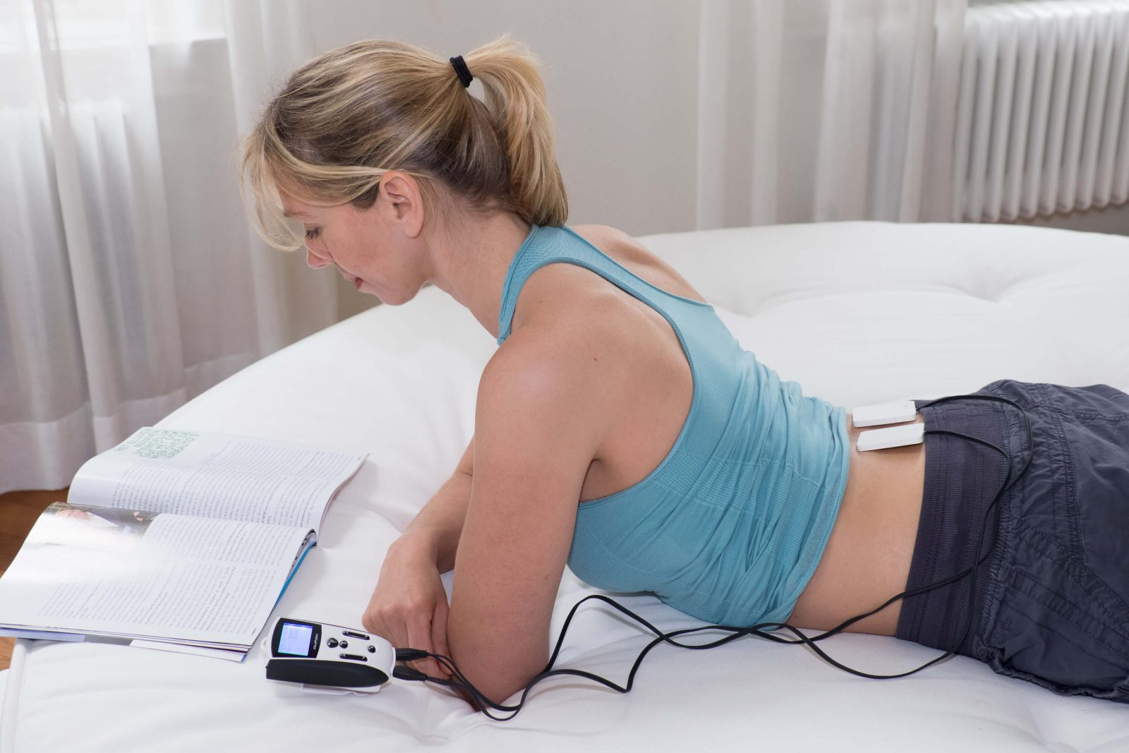 FlexPulse PEMF device for Lower Back Chronic Joint Pain
