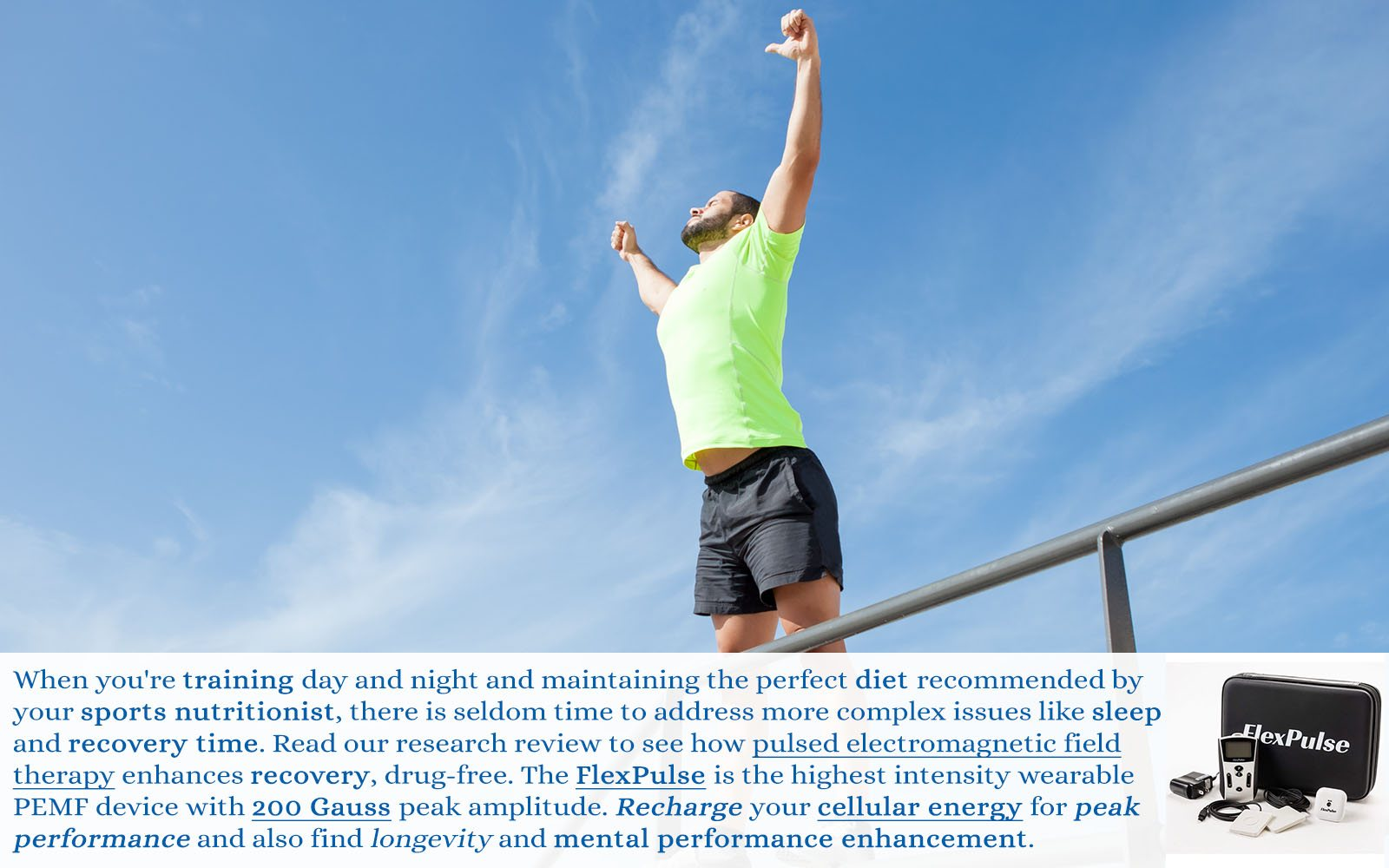 PEMF for Athletic Performance Enhancement and Sports Development