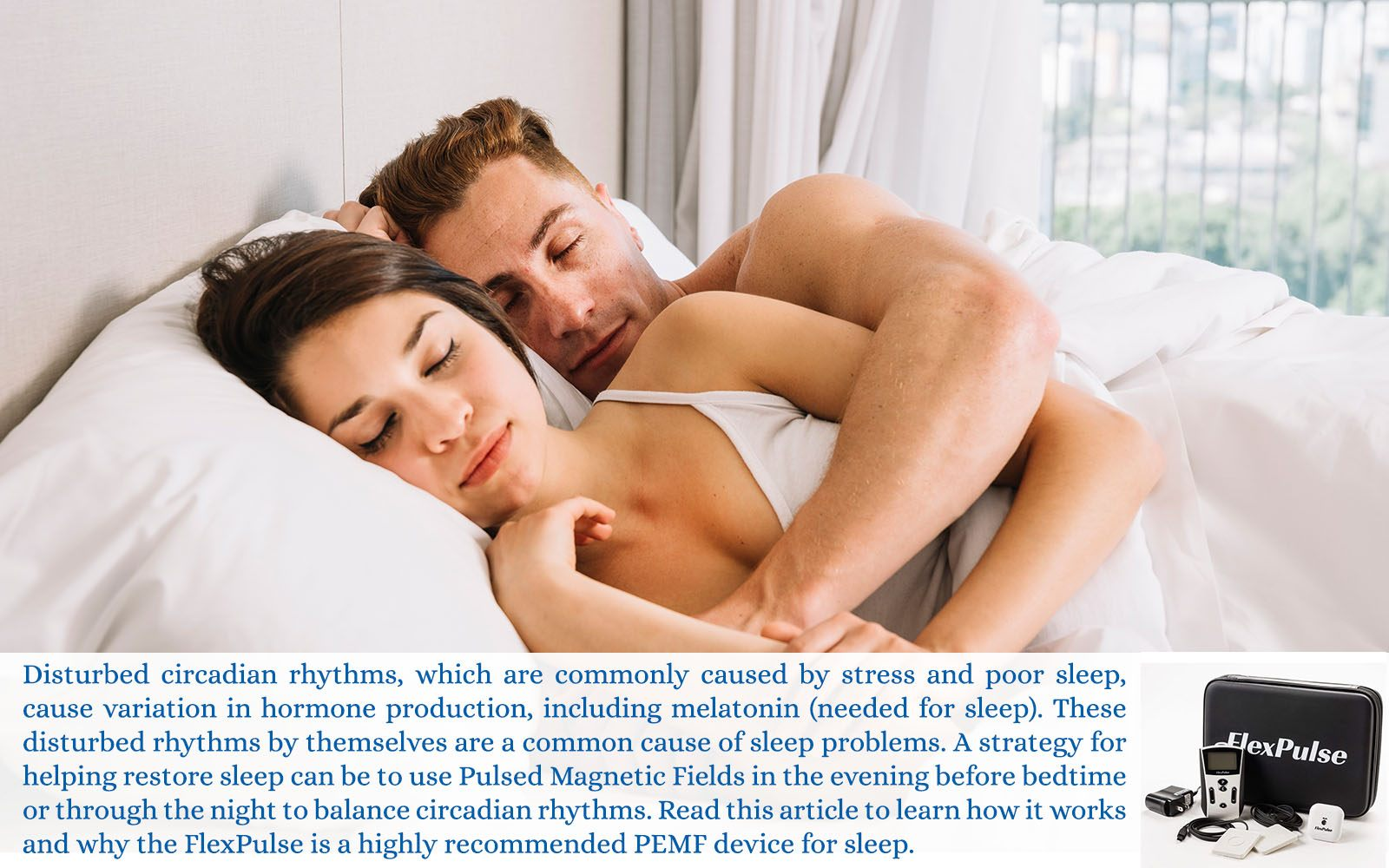 pulsed electromagnetic field therapy for sleep aids